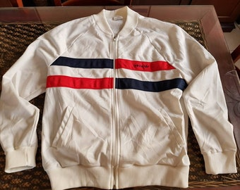 80's ADIDAS bomber jacket MADE in USA!