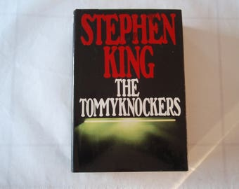 1987 Book Stephen King The Tommyknockers Putnam Press 1st Edition Fiction Horror d647