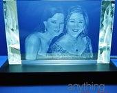 3D Crystal Prism Light Ba...