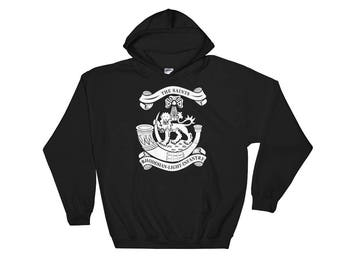 Rhodesian Light Infantry Hooded Sweatshirt White Print
