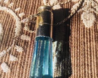 Aqua aura vogel wand bullet pendant