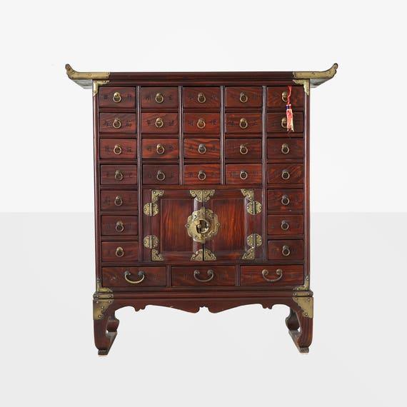 vintage korean apothecary cabinet korean medicine chest