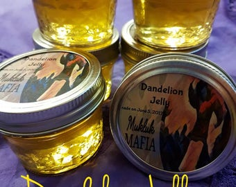 Alaska Dandelion Jelly