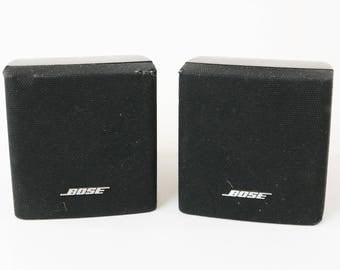 Lot 2 Bose Cube Speakers Black