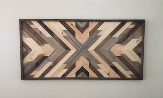 Reclaimed wood wall art wood art wall decor wood decor