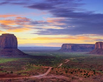 United States Monument Valley placemat