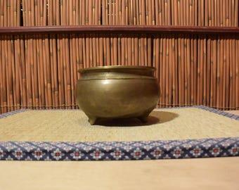 Japanese Brass Incense Burner