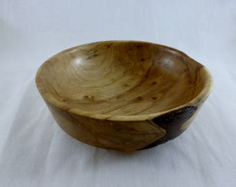 Small turned bowl