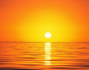 Florida Sunset, Lido Key, Beach, Florida, Sunsets, orange sunset over the ocean