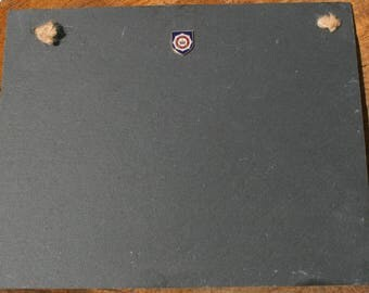 Household Division Shield Slate Chalk Board Messages, Lists , Tally Chart, Reminders Military Gift ME16