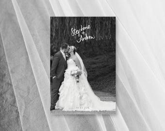 Wedding Thank You Cards Photo Download Template Printable Card