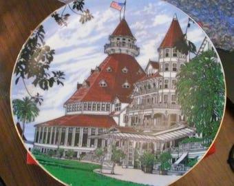 Hotel del Coronado 100th Anniversary Production Sample Commemorative Plate