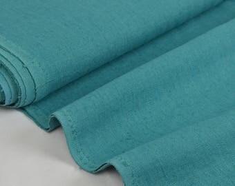 "Fabric ""linen Turquoise"" 100% linen 142cm in width"