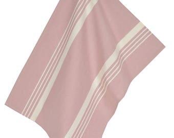 Towel 50x70cm pastel lilac fabric