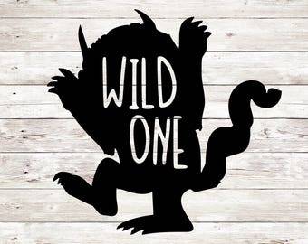 Wild Things SVG, Wild One svg, Boy SVG, Wild Things Cut File, Hello Cut File, Hello PNG, Silhouette Cameo, Silhouette files, Svg Sale