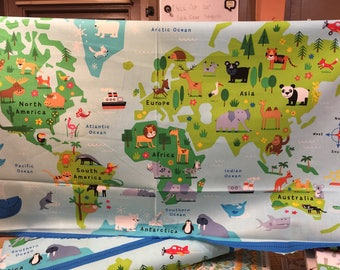 Map Panel by Timeless Treasures