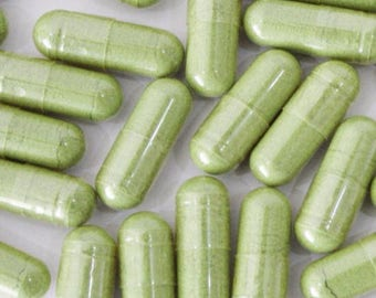 Chlorella (Cracked Cell Wall) Capsules - Certified Organic  PROMOTES WEIGHT LOSS/Immune System Support