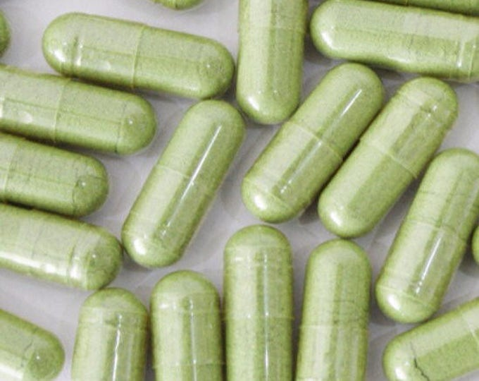 Chlorella (Cracked Cell Wall) Capsules - Certified Organic