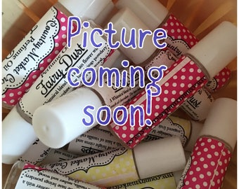 Fairy Dust Fragrance Roll On Perfume Vegan Handmade Highly Scented