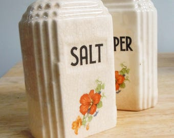 Salt and Pepper / Art Deco Version / Super Large and Useful