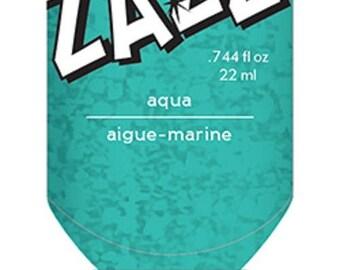 Glitter glue / Glitter glue Zazz aigue marine