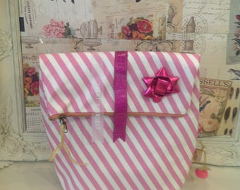 Candy Stripe Stripe Washbag