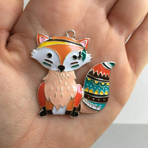 P79 Fox Pendant for Chunky Necklaces