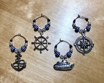 Cruise wine charms-FE gift- DCL