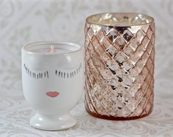 Libby's Honor Soy Candles - Breast Cancer Awareness