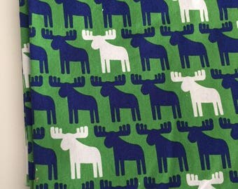 Ann Kelle for Robert Kaufman Woodland Pals Moose Cotton Fabric