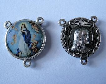Rosenkranzverbinder 2 cm Durchmesser Immaculata