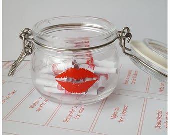 Date Night Ideas, Date Night Jar, Romantic, Couples Gift, Boyfriend Girlfriend Gift, Valentines Gift