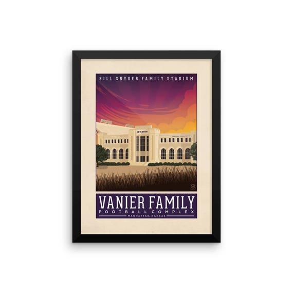 Bill Snyder Family Stadium Framed Print