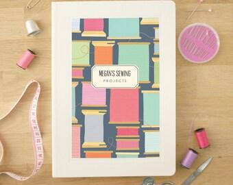 Personalised Sewing Notebook