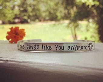 """Chris Cornell inspired bracelet 
