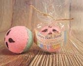 Watermelon Small Bath Bomb, Bath Bombs for Kids, Bath Fizzy, Spa Party