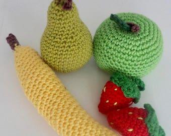 Fruit toys (set of 5)