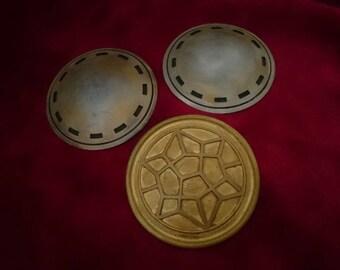 Thor Ragnarok Inspired Cloak Disc and Belt Centre Set