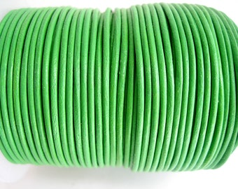 4 m leather 1.5 mm Green quality sup