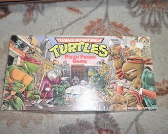 Vintage Teenage muntant ninja Turtles Pizza Power board game