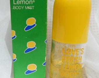 Love's Fresh Lemon Body Mist