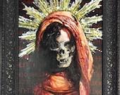 Kollaborativen Gemälde von Damien Echols und Michael Bellamy. Signierte Drucke & Original zum Verkauf.