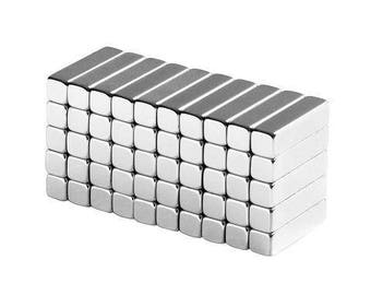 1/2 x 1/8 x 1/8 inch Neodymium Rare Earth Bar Magnets N48 (50 Pack)