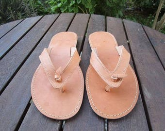 Hand Made Greek Leather Sandal