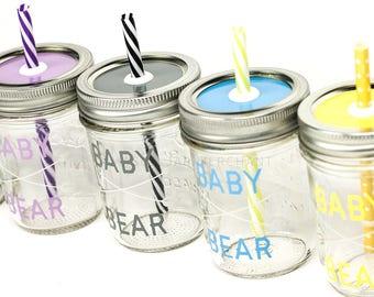 Baby Bear Drinking Jar
