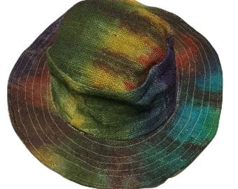 Bohemian Hemp Sun Hat