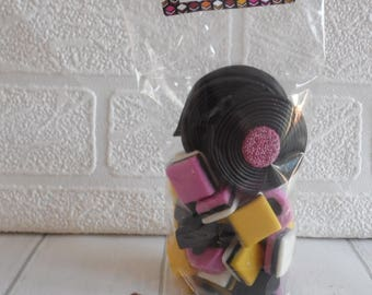 200gr Gift Pack Of Liquorice Sweets / Liquorice Allsorts & Catherine Wheels - Fathers Day / Favours / Personalised Gift