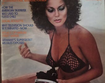 Penthouse 1978 vintage magazine collectible