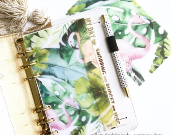 Vellum Dashboards / Ring Planners / Planner Dashboards : Summer Vibes