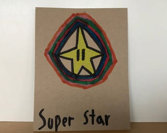 Super Star Loveycard